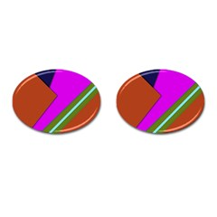 Geo Fun 13 Cufflinks (Oval)