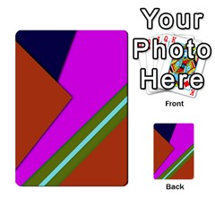 Geo Fun 13 Multi Purpose Cards (rectangle)