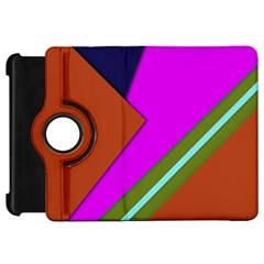 Geo Fun 13 Kindle Fire HD Flip 360 Case