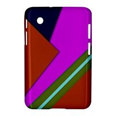 Geo Fun 13 Samsung Galaxy Tab 2 (7 ) P3100 Hardshell Case