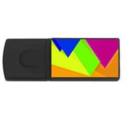 Geo Fun 15 USB Flash Drive Rectangular (2 GB)