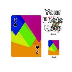 Geo Fun 15 Playing Cards 54 (mini)