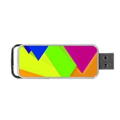 Geo Fun 15 Portable USB Flash (One Side)