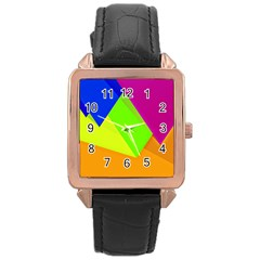 Geo Fun 15 Rose Gold Watches