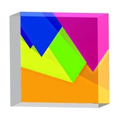 Geo Fun 15 5  x 5  Acrylic Photo Blocks