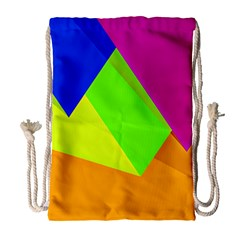 Geo Fun 15 Drawstring Bag (Large)