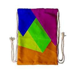Geo Fun 15 Drawstring Bag (small)