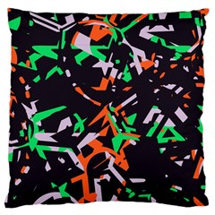 Broken pieces Large Cushion Case (Two Sides)