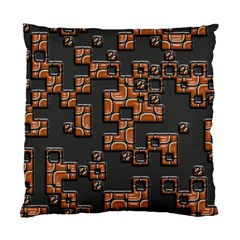 Brown pieces Standard Cushion Case (Two Sides)