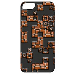 Brown pieces Apple iPhone 5 Classic Hardshell Case