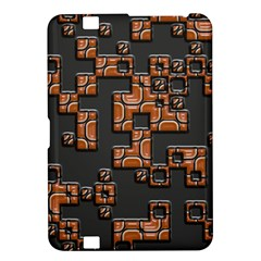 Brown pieces Kindle Fire HD 8.9  Hardshell Case