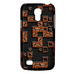 Brown pieces Samsung Galaxy S4 Mini (GT-I9190) Hardshell Case