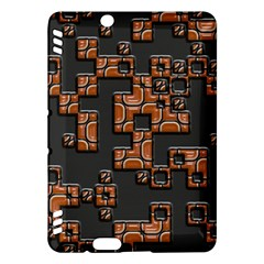 Brown pieces Kindle Fire HDX Hardshell Case