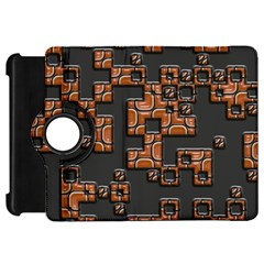 Brown pieces	Kindle Fire HD Flip 360 Case