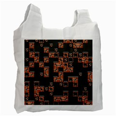 Brown pieces Recycle Bag