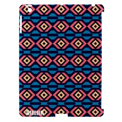 Rhombus  pattern Apple iPad 3/4 Hardshell Case (Compatible with Smart Cover)