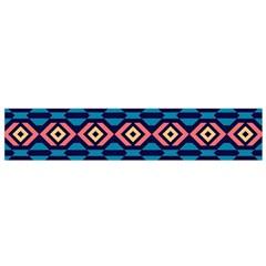 Rhombus  pattern Flano Scarf