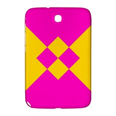 Yellow pink shapes Samsung Galaxy Note 8.0 N5100 Hardshell Case