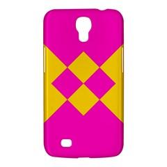 Yellow pink shapes Samsung Galaxy Mega 6.3  I9200 Hardshell Case