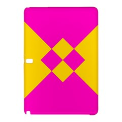 Yellow pink shapes	Samsung Galaxy Tab Pro 12.2 Hardshell Case