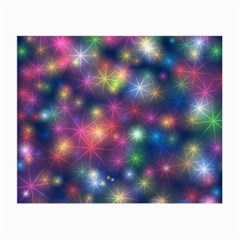 Sparkling Lights Pattern Small Glasses Cloth (2-Side)
