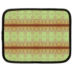Aztec pattern Netbook Case (Large)