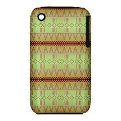 Aztec pattern Apple iPhone 3G/3GS Hardshell Case (PC+Silicone)