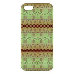 Aztec pattern Apple iPhone 5 Premium Hardshell Case