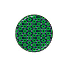 Stars in hexagons pattern Hat Clip Ball Marker (10 pack)