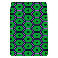 Stars in hexagons pattern Removable Flap Cover (S)