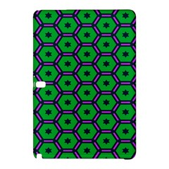 Stars in hexagons patternSamsung Galaxy Tab Pro 10.1 Hardshell Case