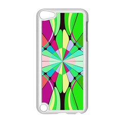Distorted Flower Apple Ipod Touch 5 Case (white)