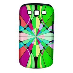 Distorted flower Samsung Galaxy S III Classic Hardshell Case (PC+Silicone)