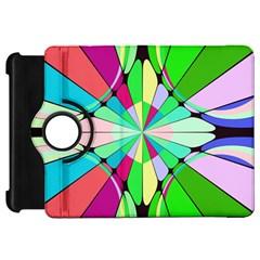 Distorted Flower Kindle Fire Hd Flip 360 Case