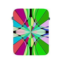 Distorted flower Apple iPad 2/3/4 Protective Soft Case