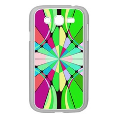 Distorted flower Samsung Galaxy Grand DUOS I9082 Case (White)