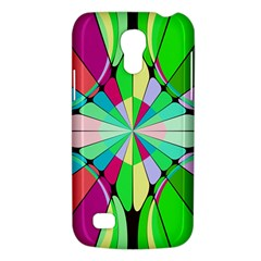 Distorted flower Samsung Galaxy S4 Mini (GT-I9190) Hardshell Case