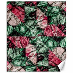 Luxury Grunge Digital Pattern Canvas 20  x 24