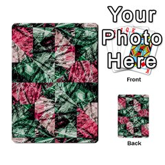 Luxury Grunge Digital Pattern Multi-purpose Cards (Rectangle)