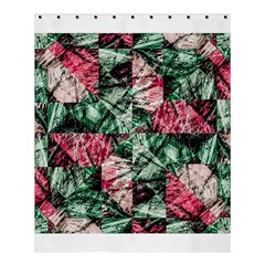 Luxury Grunge Digital Pattern Shower Curtain 60  x 72  (Medium)