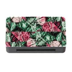 Luxury Grunge Digital Pattern Memory Card Reader With Cf