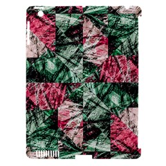Luxury Grunge Digital Pattern Apple iPad 3/4 Hardshell Case (Compatible with Smart Cover)