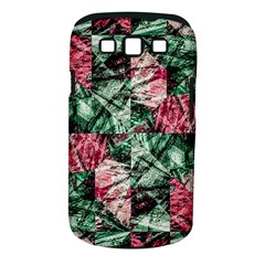Luxury Grunge Digital Pattern Samsung Galaxy S III Classic Hardshell Case (PC+Silicone)
