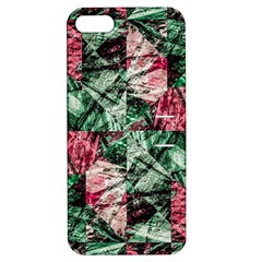 Luxury Grunge Digital Pattern Apple iPhone 5 Hardshell Case with Stand
