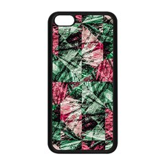 Luxury Grunge Digital Pattern Apple iPhone 5C Seamless Case (Black)