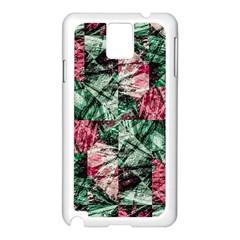 Luxury Grunge Digital Pattern Samsung Galaxy Note 3 N9005 Case (White)