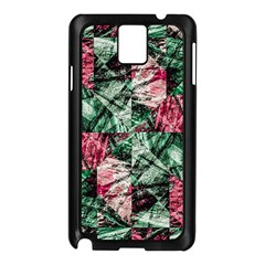 Luxury Grunge Digital Pattern Samsung Galaxy Note 3 N9005 Case (Black)