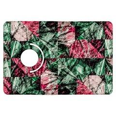 Luxury Grunge Digital Pattern Kindle Fire Hdx Flip 360 Case