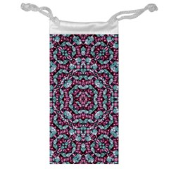 Luxury Grunge Digital Pattern Jewelry Bags
