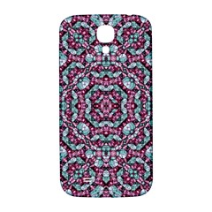 Luxury Grunge Digital Pattern Samsung Galaxy S4 I9500/I9505  Hardshell Back Case
